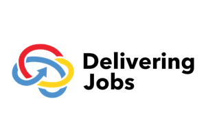 Delivering Jobs Logo