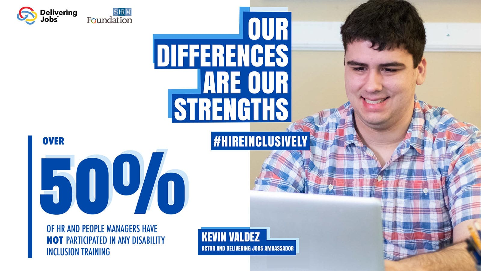 """Kevin Valdez ad, """"Our Differences are Our Strengths"""""""